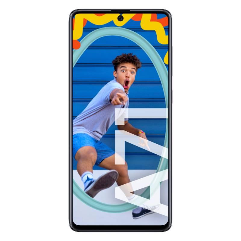 Samsung - Celular libre A71 Blanco 128GB 6GB RAM