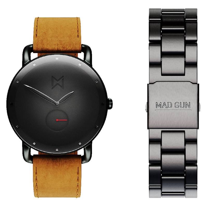 Mad Gun - Reloj Foxhall + malla intercambiable