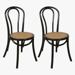 Makom - Set por 2 sillas de diseño Thonet