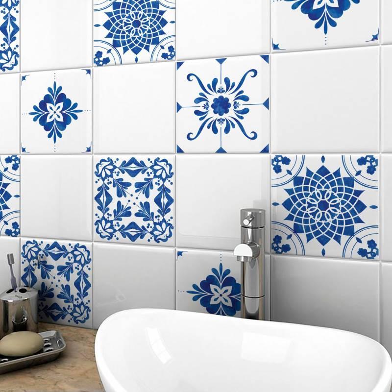 Enamorada del muro - Azulejos vinilo autoadhesivo 60x65 cm