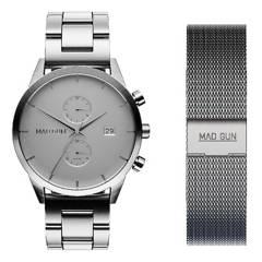 Mad Gun - Reloj Ansley + malla intercambiable