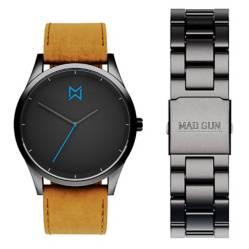 Mad Gun - Reloj Irving + malla intercambiable