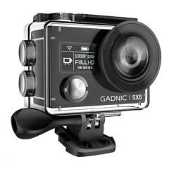 Gadnic - Cámara deportiva 4K 20Mpx doble pantalla