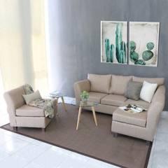 Mi Sofa - Juego de living Orion 3-1-1 cuerpos