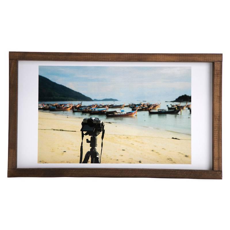 Cuadro Playa y fotos 30x50 cm