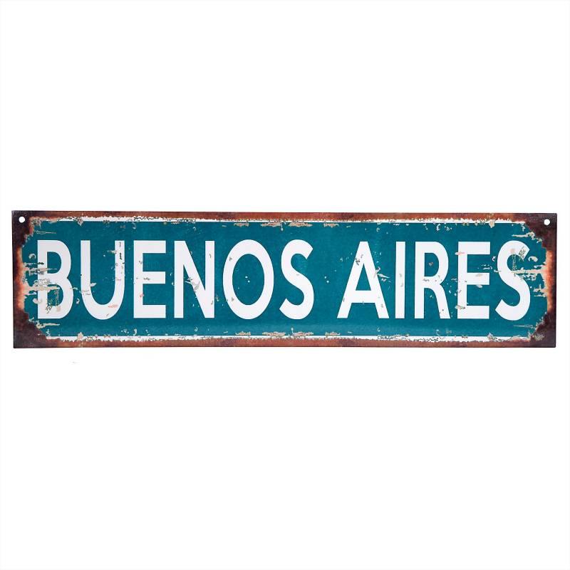 Cartel Buenos Aires 10x40 cm