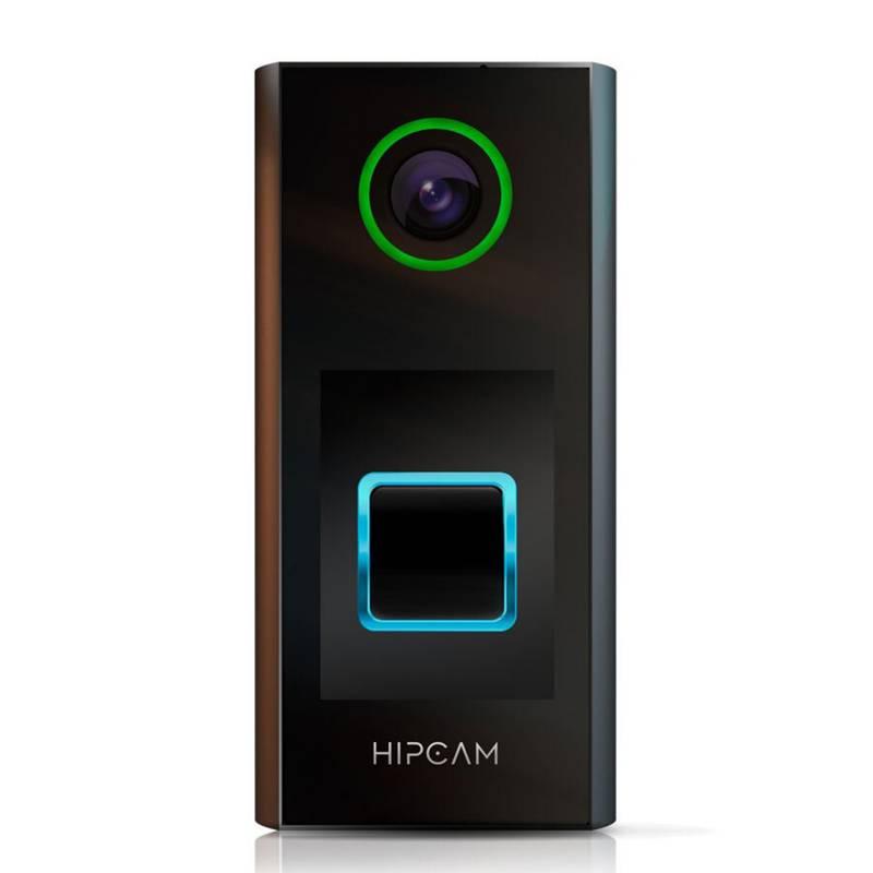 HIPCAM - Timbre y cámara de seguridad Wifi 1080p