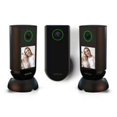 HIPCAM - Set seguridad total 1080p 2 cámaras interior + 1 exterior