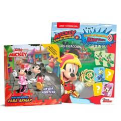 Guadal - Pack x2 - libros infantiles A jugar con Mickey