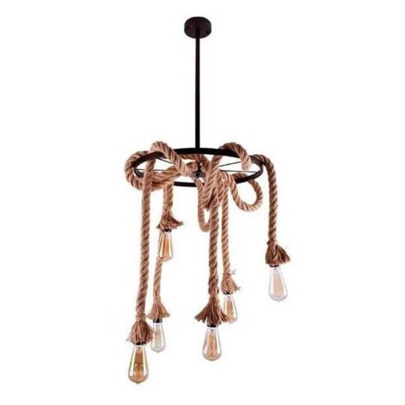 Lámpara colgante Sidirou 30x50cm