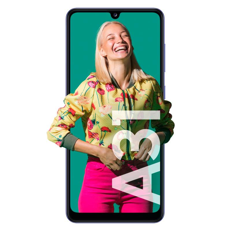 Samsung - Celular libre A31 Azul 128GB 4GB RAM
