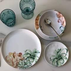 Park Design - Set de platos Blossom 16 piezas