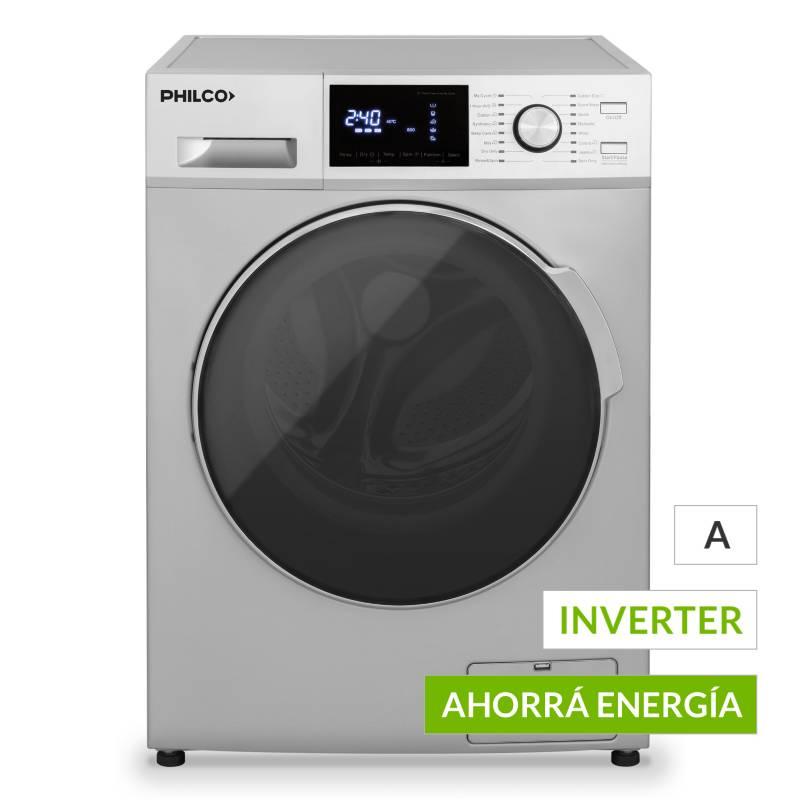 Philco - Lavasecarropas PHLS100P Inverter 10/7 kg