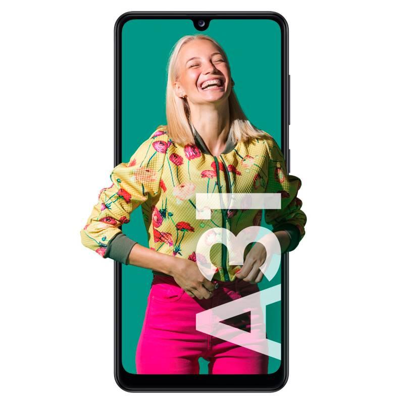 Samsung - Celular libre A31 Negro 128GB 4GB RAM