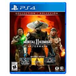 Warner Bros. - Videojuego Mortal Kombat 11 Aftermath Kollection Ps4