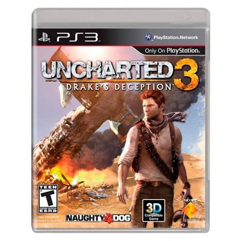 Sony - Videojuego Uncharted 3 Drakes Deception Ps3