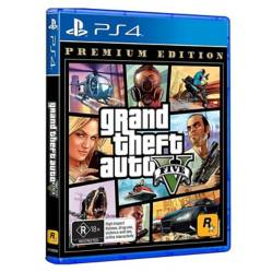 Rockstar Games - Videojuego Grand Theft Auto V Premium Online Edition Ps4