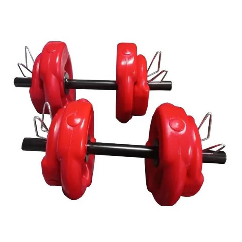 BSFit - Par de pesas con agarre 14 kg