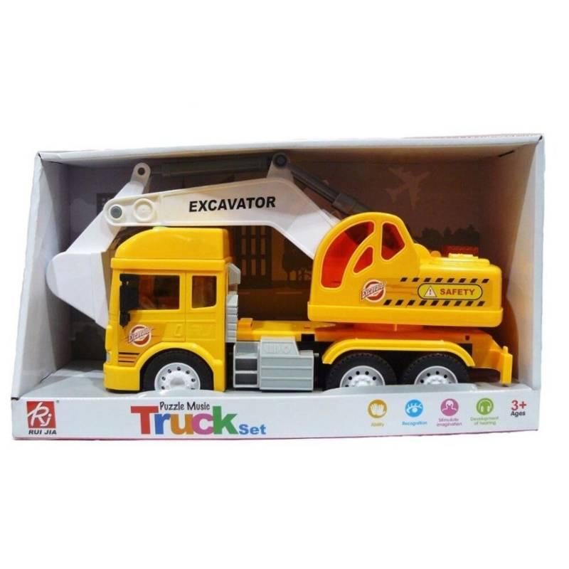 CKSur - Camión excavadora