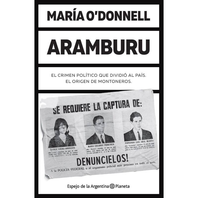 Planeta de libros Argentina - Aramburu - María O'Donnell