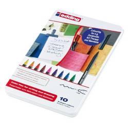 Edding - Marcadores para papel 1200/10 Set