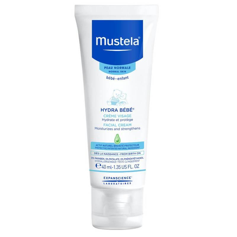 Mustela - Crema facial Hydra Bebé  40 ml