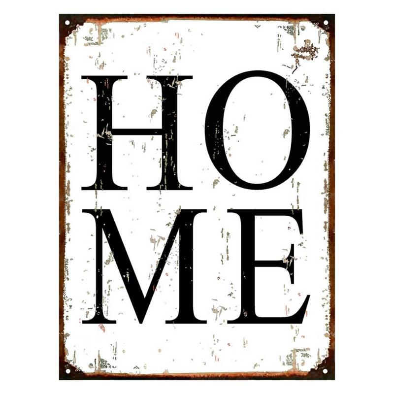 Cartel Home 30x40cm