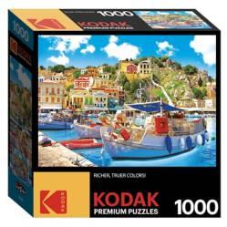 Kodak - Rompecabezas 1000 piezas Isla griega Symi