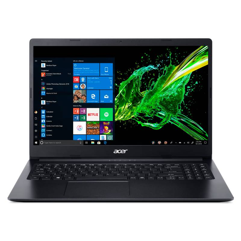Acer - Notebook Intel Celeron A315-34-C7RP-AR 4GB RAM