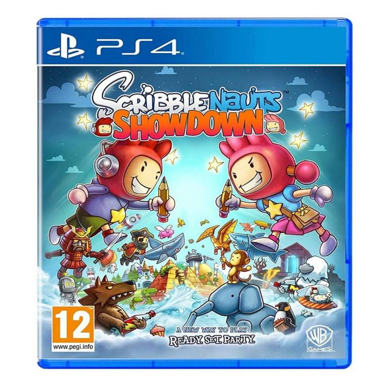 Sony - Videojuego Scribblenauts Showdown PS4