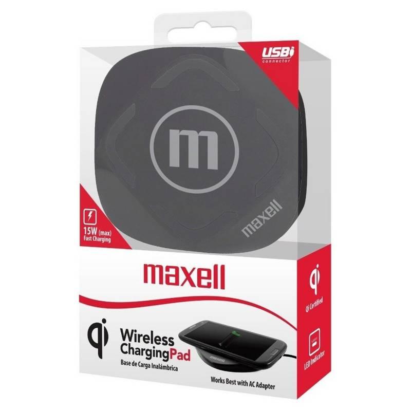 Maxell - Cargador inalámbrico 348203 universal
