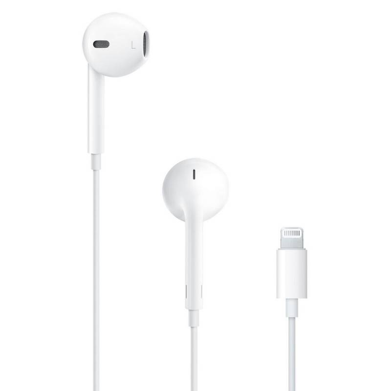 Apple - Auriculares EarPods con conector lightning
