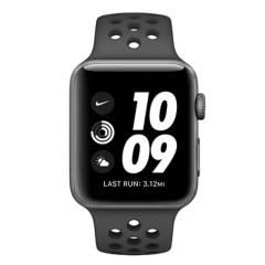 Apple - Watch Nike Series 3 GPS 42mm space grey/black