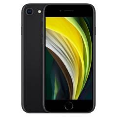 Apple - iPhone SE 128GB black