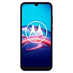 Motorola - Celular libre E6S Se Peacock 64GB 4GB