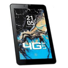 "iQual - Tablet teléfono 4G Lte 7"" T7L rojo"