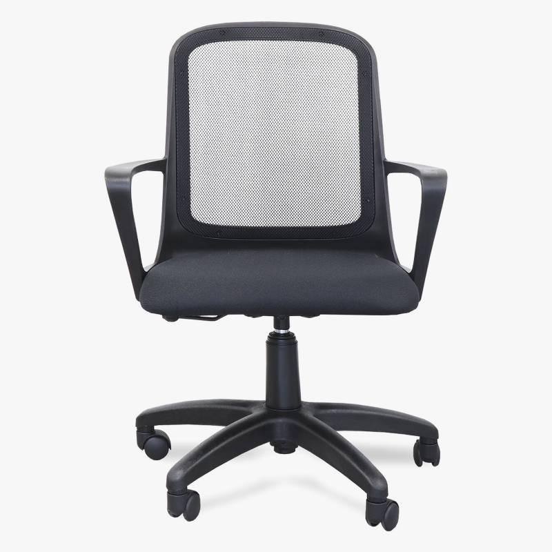 Full Confort - Silla de oficina neumática Fresa con brazos
