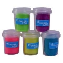 Generica - Masa con glitter 5 colores