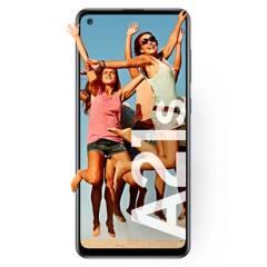 Samsung - Celular libre A21S Negro 64GB 4GB RAM