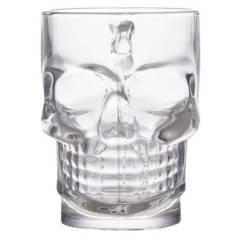 OKKO - Set por 2 vasos Calavera 500 ml
