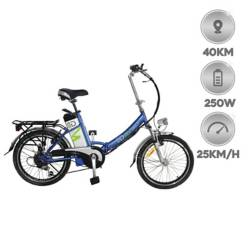 IRIEDAILY - Bicicleta eléctrica plegable 250W 10AH