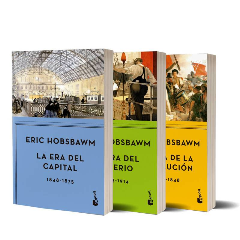 Planeta de libros Argentina - Pack x3 - Eras Hobsbawn
