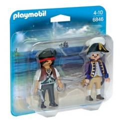 Playmobil - Playmobil 6846 duo pirata y soldado