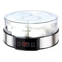 Smart Tek - Yogurtera  digital 7 recipientes vidrio 1.5 Lts