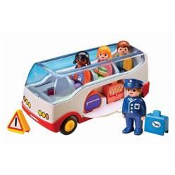 Playmobil - Playmobil 123 autobus con pasajeros valijas