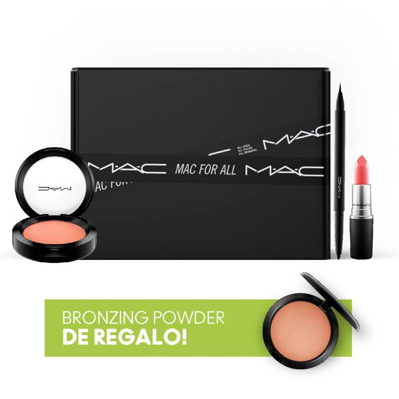 MAC - Set de maquillaje MAC + Bronzer Powder de regalo!