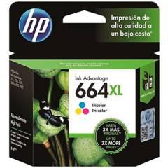 HP - Cartucho 664XL tricolor