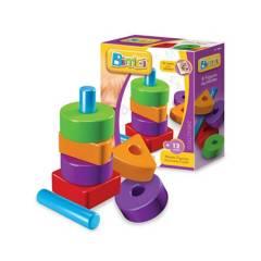 Bimbi - Bloque y apilables Bimbi 8 piezas