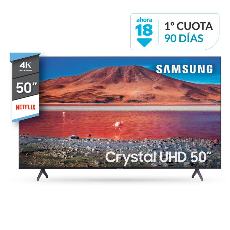 "Samsung - Smart TV 50"" UN50TU7000GCZB 4K Ultra HD"