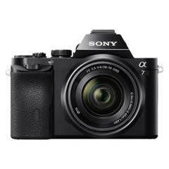 Sony - Cámara A7 reflex montura E full frame 24mp